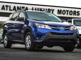 2015 Used Toyota RAV4 AWD 4dr LE at ALM Gwinnett Serving Duluth ...