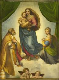 The Sistine <b>Madonna</b> - Raphael — Google Arts & Culture