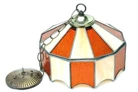 full size of lighting stained glass hanging lamp leaded shade light fixture amber pendant small room