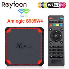 X96 Mini Plus TV Box Android 9,0 Amlogic S905W4 Quad Core A53 Dual Wifi  H.265 4K Unterstützung Youtube Google x96mini Media  Player|Digitalempfänger