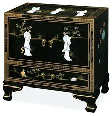Laquer furniture Pink Asian Mujeresqueinspiraninfo Asian Black Lacquer Furniture Alluring Oriental Coffee Table With