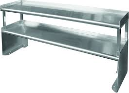 stainless steel special double over shelf