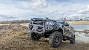 Fab Fours Premium Series Toyota Tacoma Front Bumper Review - YouTube