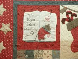75 best The night before christmas images on Pinterest | Christmas ... & Quilt Vine: The Night Before Christmas Adamdwight.com
