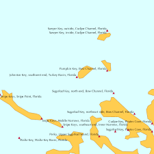 Johnston Key Southwest End Turkey Basin Florida Tide Chart