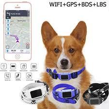 Waterproof Pet <b>Smart Mini GPS Tracker</b> Dog Collar   Plush4Paws ...