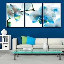 hand painted heaven blue 3 piece gallery wrapped canvas art set overstock shopping top rated otis designs canvas pinterest top rated  on canvas wall art blue flowers with hand painted heaven blue 3 piece gallery wrapped canvas art set