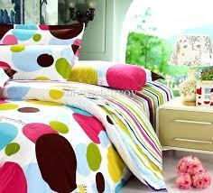 strips polka dot nature cotton full queen bedding sets duvet quilt covers comforter set 4 yellow