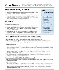 Entry Level Professional Resume Templates
