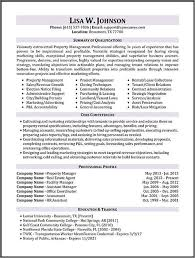Property Manager Resume Simple Property Manager Resume Sample Limited Properties Pinte