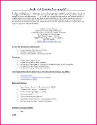 Resume Sample For Ojt Hotel And Restaurant Management Bongdaao Com
