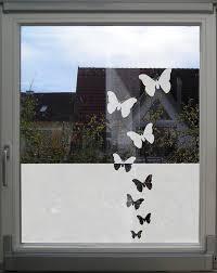 Fensterfolie Schmetterlinge Küche Sichtschutz Folie Für Etsy