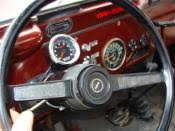 tach install difficulty jeep cj forums its easy to install heres a pic of mine its a sunpro