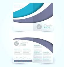 How To Make A Trifold Brochure In Word 2007 Two Fold Brochure Template Free Blank Bi Fold Brochure Template