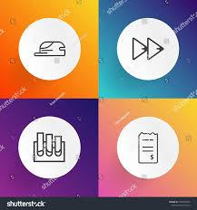 Sound Designer Pay Modern Simple Vector Icon Set On Stock Vector Royalty Free