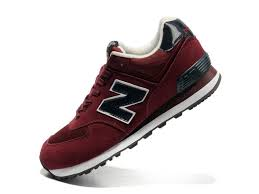 new balance shoes red and black. new balance nb 574 classic purplish red black for men shoes and i