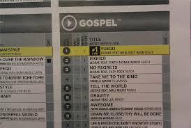 Bdsradio Charts Billboard Christian Gospel Charts