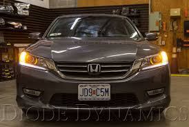 Front Turn Signal Leds For 2013 2015 Honda Accord Sedan Pair