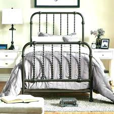 Wrought Iron Bed Frames Frame King White Queen Size Full Home ...
