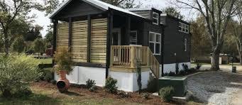 tiny houses in north carolina. Beautiful Carolina Horseshoe  1 Bedroom Modern Tiny House With Loft Deck And Landscaping To Houses In North Carolina