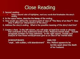 "the story of an hour"" by kate chopin ppt video online  4 close"
