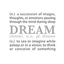 Quote Definition Stunning Wall Quotes Wall Decals DREAM A Definition WallsNeedLove