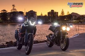Where To Place Led Lights On Motorcycle Barkbusters Announce Led Lights For Handguards Mcnews Com Au