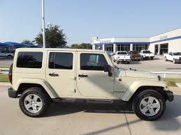 29 988 each two 2011 jeep wrangler unlimited sahara suv hardtop one tan or silver you