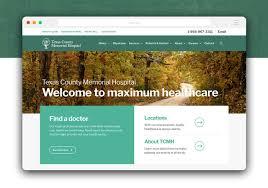 Memorial Website Design Website Design Seo For Texas County Memorial Hospital By