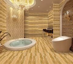 wood grain ceramic tile bath