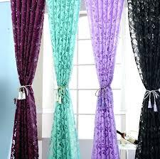 purple window curtains purple window curtains fl colorful curtains for window curtain panel semi blackout kitchen