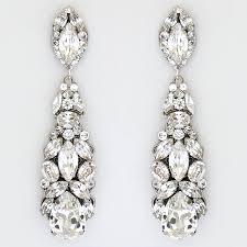show stopper crystal chandelier earrings