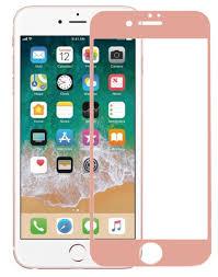 <b>Аксессуар Защитное стекло Krutoff</b> для APPLE iPhone 6 3D Rose ...