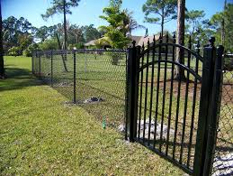 black chain link fence gate.  Fence Chain Link Fence Gate Parts And Black T