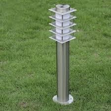12v 24v 110v 120v 220v 240v lawn light led optional e27 fixture waterproof outdoor path road