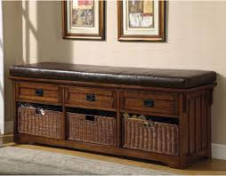 Padded Benches Living Room Padded Storage Bench Home Design Ideas