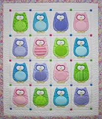 Owl Baby Quilt Whoooo wouldnt love to cuddle with this adorable ... & Quilt Pattern. Owl Quilt PatternBaby ... Adamdwight.com