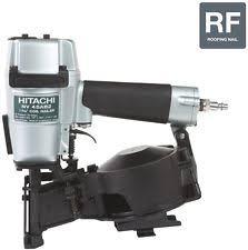 hitachi air nailer. hitachi round-head roofing pneumatic nailer air nail gun 1-3/4 inch
