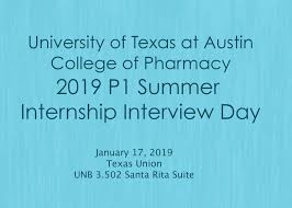 Cvs Summer Internship P1 Summer Internship Interview Day College Of Pharmacy