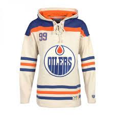 Hood Gretzky Lacer Oilers Edmonton Jersey Wayne White Nhl
