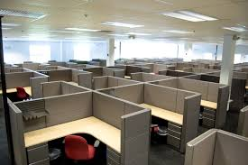 Open office cubicles Office Interior Cubicles Vs Open Workspace Which Do You Prefer Ar15com