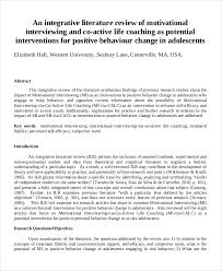 Writing A Literature Review Abstract How To Write An Abstract For