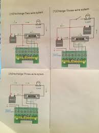 rv net open roads forum tech issues help wiring amp hour meter this is the battery configuration in the rear of my 2006 diesel bounder