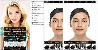 mobile virtual makeover