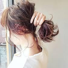 憧れのインナーカラー特集ピンクや青などの人気色をご紹介 Arine