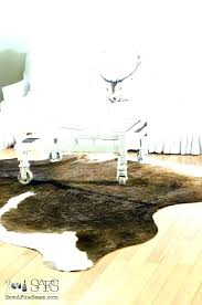 small cowhide rug small cowhide rug large size of living rugs cream ideas for decorating with