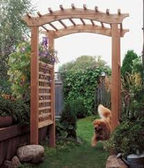 Small Picture How to Build a Garden Arbor Garden arbours Arbors and Illustrations
