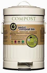 kitchen craft 3 litre cream steel kitchen compost bin food waste caddy