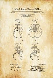 surgical instrument patent 1902 doctor office decor. Dentist\\\u0027s Clamp Patent 1903 \u2013 Print, Dental Office Decor . Surgical Instrument 1902 Doctor E