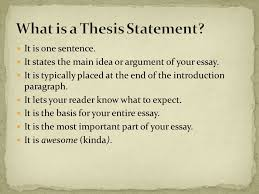 what is a thesis statement ppt video online 4 what is a thesis statement